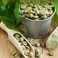 Фото зеленого кофе