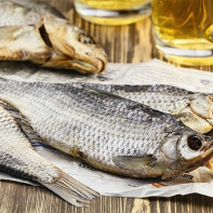 Фото сушеной и вяленой рыбы