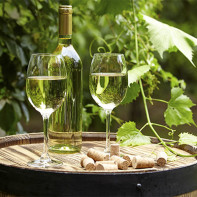 Фото белого вина 5