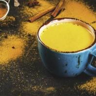 Фото золотого молока с куркумой 5