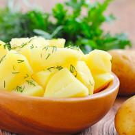 Фото вареной картошки