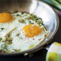 Фото жареных яиц 5