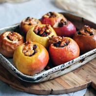 Фото печеных яблок 2