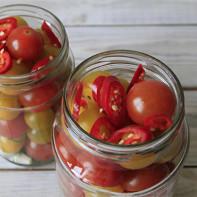 Фото соленых помидоров 4