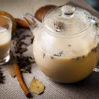 Фото зеленого чая с молоком 5