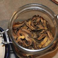 Фото сушеных грибов