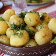 Фото вареной картошки 2