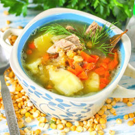 Фото горохового супа 4