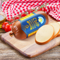 Фото колбасного сыра