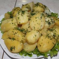 Фото вареной картошки 3