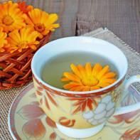 Фото чая из календулы 4