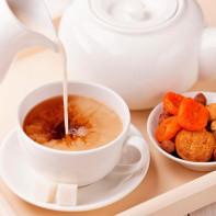 Фото черного чая с молоком 4