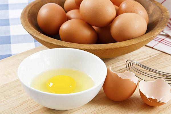 Рецепты народной медицины на основе куриных яиц