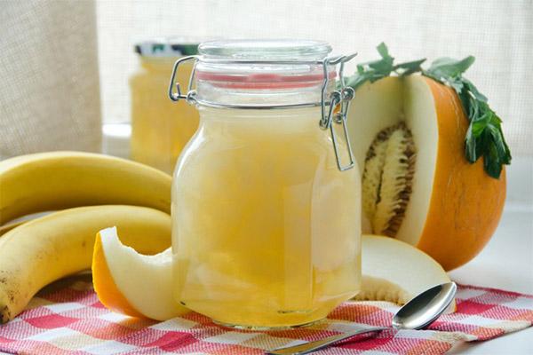 Бананово-дынный десерт
