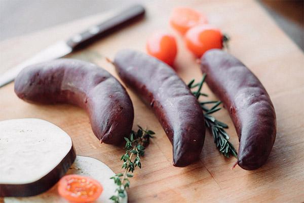 Чем полезна кровяная колбаса