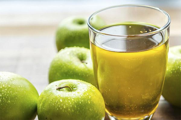 Яблочный сок в медицине