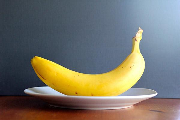 Как правильно есть бананы