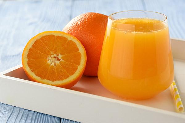 Как правильно пить апельсиновый сок
