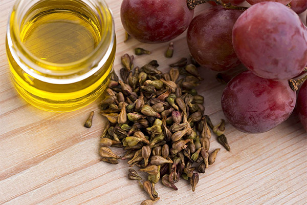 Как сделать виноградное масло