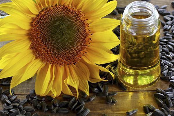 Подсолнечное масло в медицине