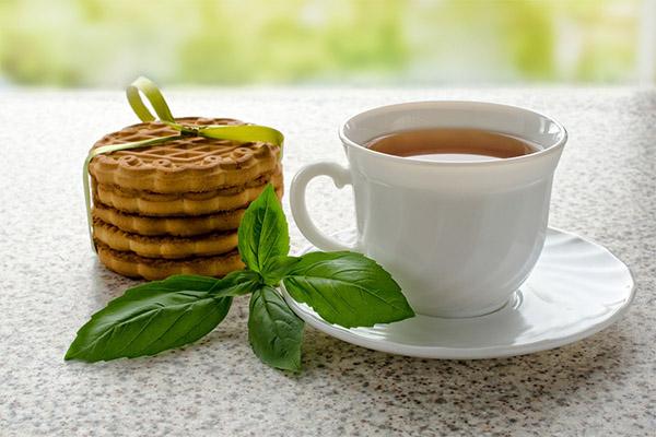 Польза чая с базиликом