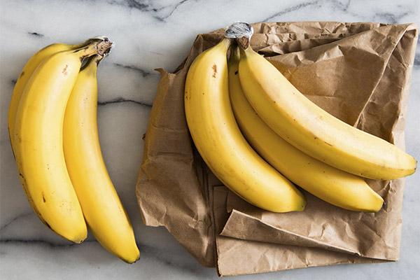 Правила хранения бананов