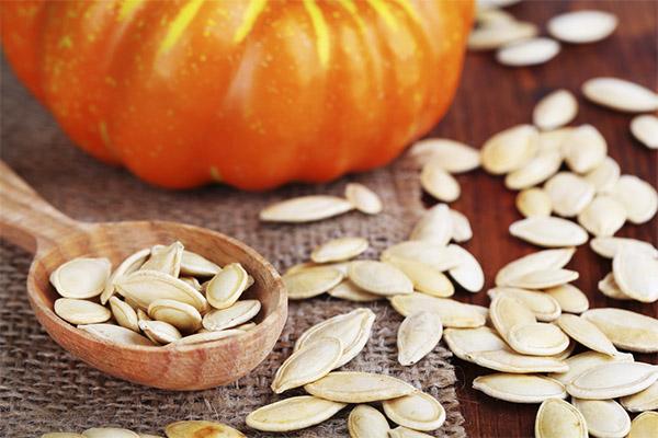 Рецепты народной медицины на основе тыквенных семечек
