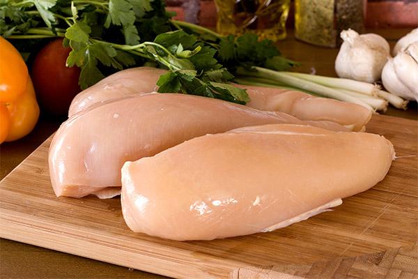 Сколько куриной грудки можно есть в день