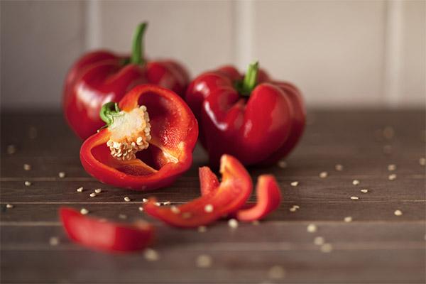 Болгарский перец в медицине