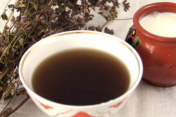 Чай с душицей в медицине