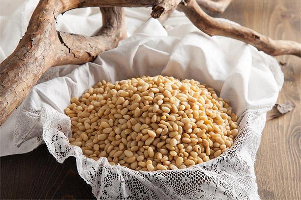 Хранение очищенных кедровых орешков