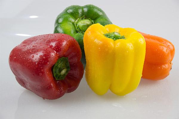 Полезные свойства перца в зависимости от цвета