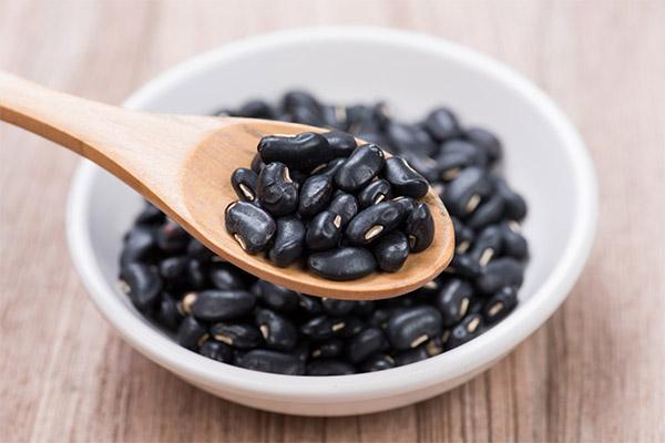 Польза и вред черной фасоли