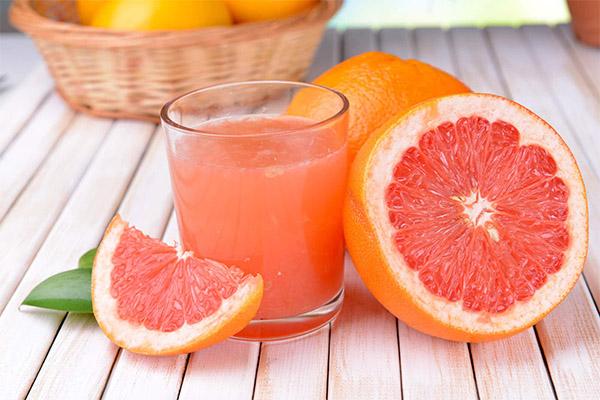 Польза и вред грейпфрутового сока