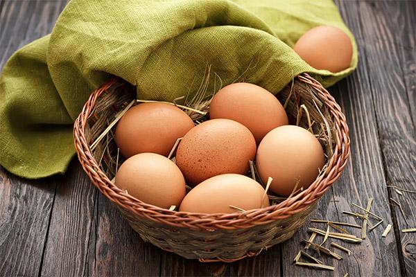 Польза коричневых яиц