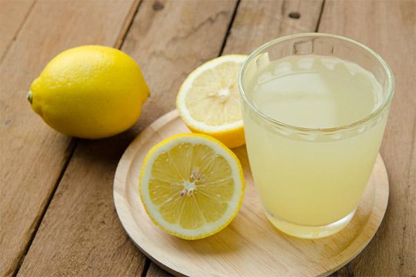 Польза сока лимона