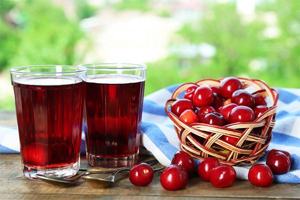Применение вишневого сока в медицине