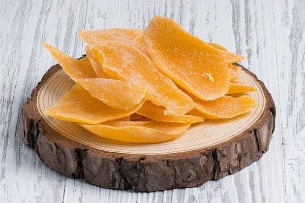 Сушеный манго в медицине