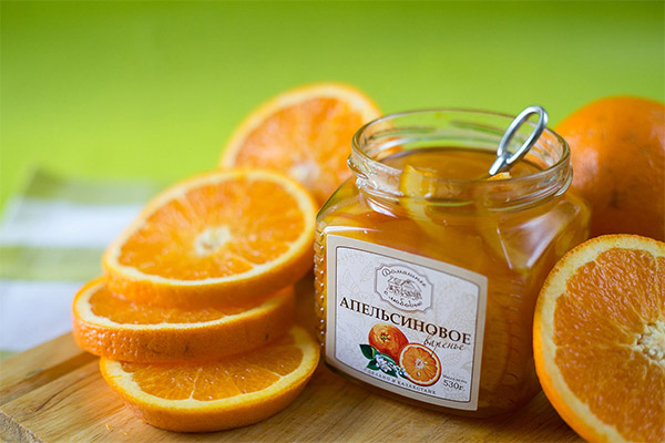 Варенье из апельсина