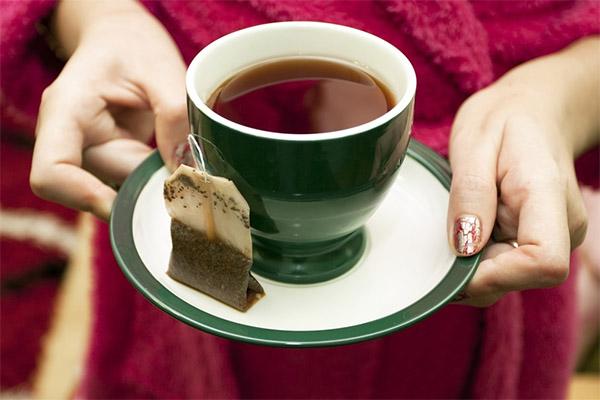 Чай в пакетиках при похудении