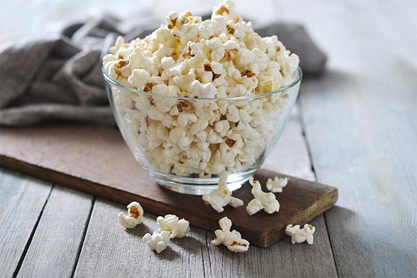 Чем полезен попкорн