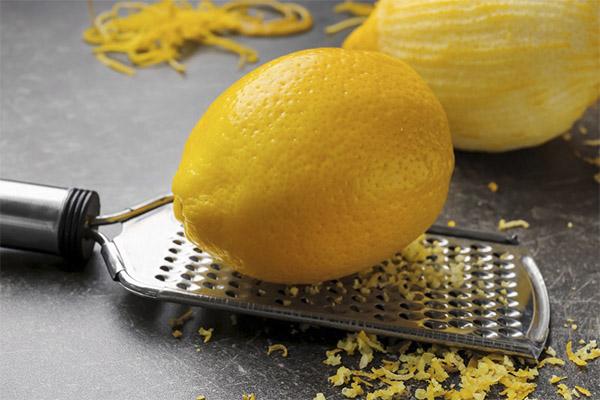 Чем полезна цедра лимона