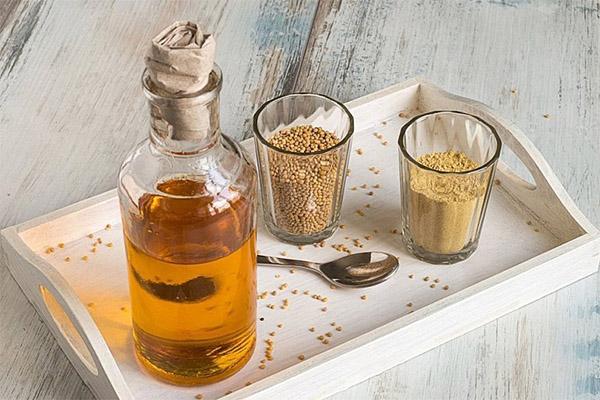 Горчичное масло в медицине
