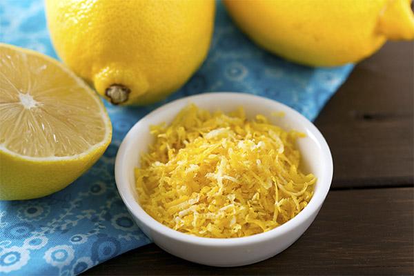 Как хранить цедру лимона