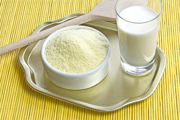 Как развести сухое молоко