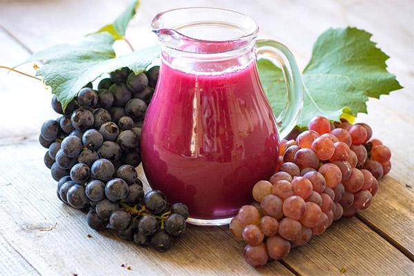 Как сделать виноградный сок