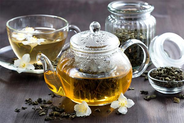 Как заваривать чай с жасмином