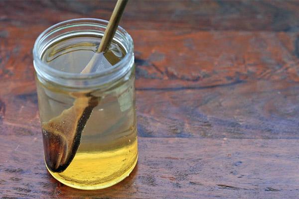 Лечение медовой водой