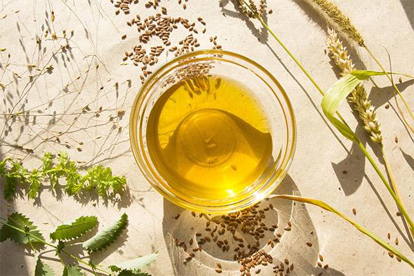 Льняное масло в медицине