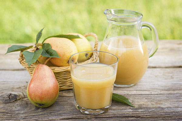 Польза и вред грушевого сока